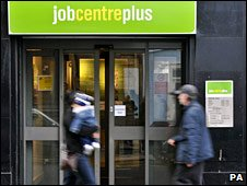 People outside JobCentre Plus