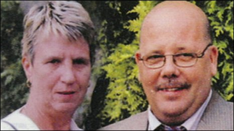 Joan and John Stirland fled to Lincolnshire after shots were fired at their Nottingham home
