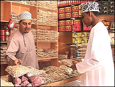 The Haffa souk in Salalah