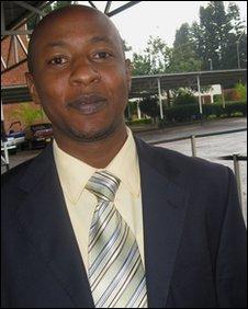 Rwandan Eddie Mugarura Balaba
