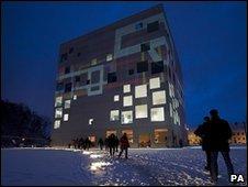 Essen's new museum of modern art
