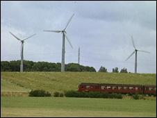 Wind farm, Denmark (Image: BBC)