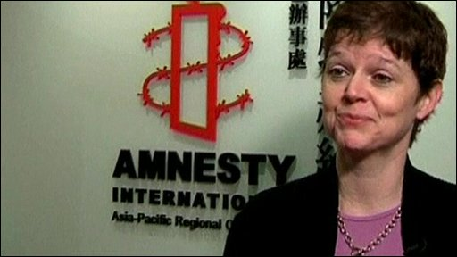 Roseann Rife, Amnesty International