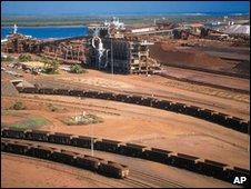 BHP Billiton facility in Western Australia