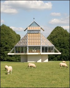 Pavilion in the grounds of Oare House