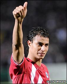 Chamakh has scored nine goals for Bordeaux this season in 25 starts