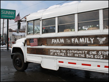 Farm to family bus