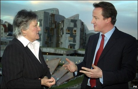 annabel goldie and david cameron