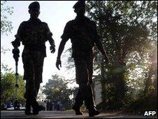 Sri Lanka Police Special Task Force (STF) commandos