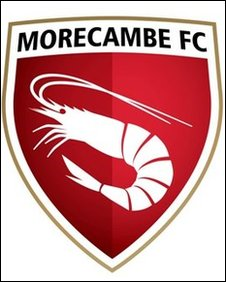 New crest for Morecambe FC features a shrimp (Pic courtesy of Morecambe Football Club)