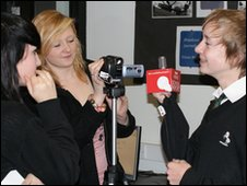 School Reporters from Horsforth School, Leeds