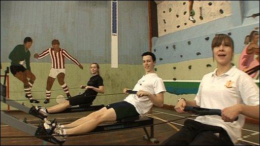 A very sporty school