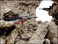 British soliders in Afghanistan