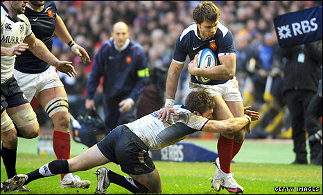 France wing Vincent Clerc