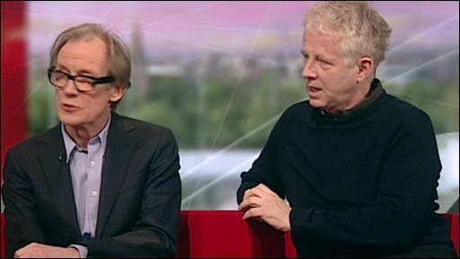 Bill Nighy and Richard Curtis