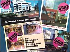 Stuff promotional postcards