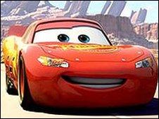 Cars' Lightning McQueen