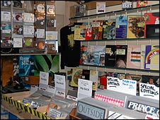 Interior of 101 Records, Keeley Road, Croydon