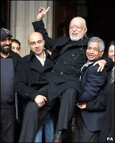 Davender Ghai outside the Court of Appeal