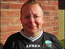 The New Saints managing director Mike Harris