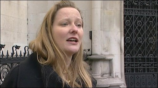 Clare Algar, from human rights group Reprieve,