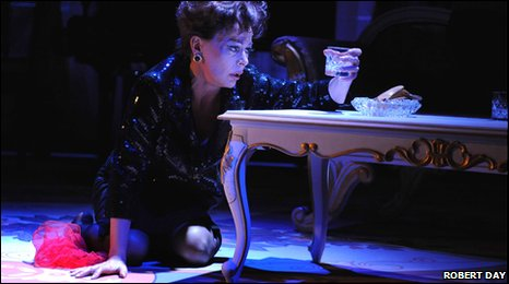 Tracie Bennett plays Judy Garland in End of the Rainbow at Northampton's Royal & Derngate