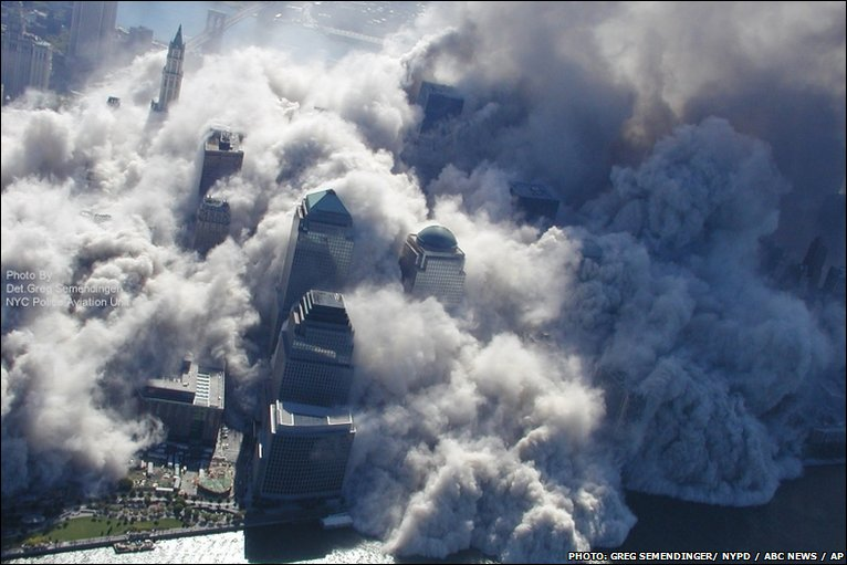 Attack on the World Trade Center, 11 Sept 2001