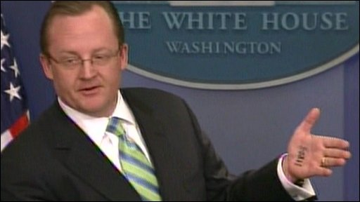White House spokesman Robert Gibbs