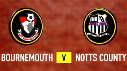 Bournemouth 2-1 Notts County