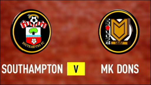 Southampton 3-1 MK Dons