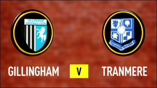 Gillingham 0-1 Tranmere