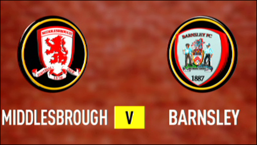 Middlesbrough 2-1 Barnsley