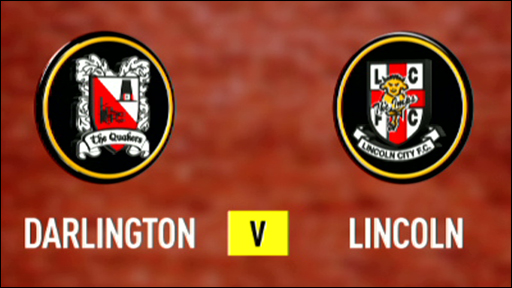 Darlington 1-1 Lincoln