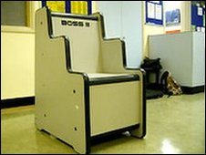 The Boss Chair at HMP Woodhill