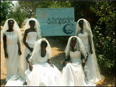 Zambian Bridal Dresses 3
