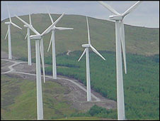 A wind farm (generic)