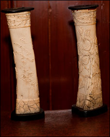 Bone Vases: courtesy of Manx National Heritage