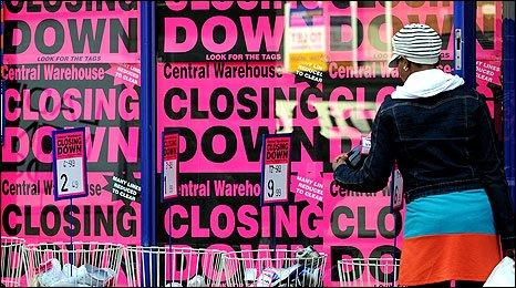 Closing down shop