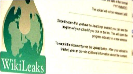 Wikileaks web site
