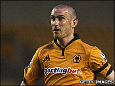 Wolves midfielder David Jones