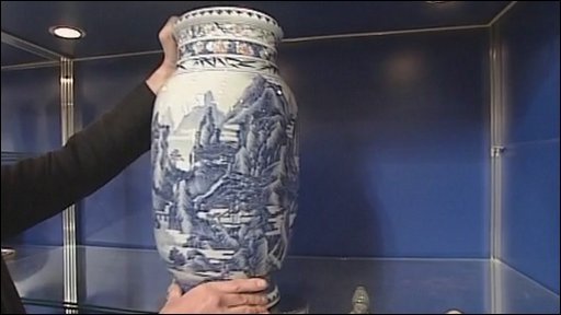 The vase at the auction
