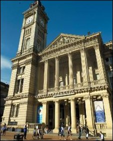 Birmingham Museum and Art Gallery, Chamberlain Square