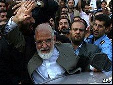 Iranian opposition leader, Mehdi Karroubi
