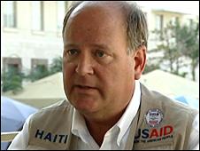 US Ambassador Lewis Lucke