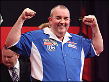World darts champion Phil Taylor