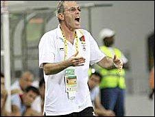 Former Benin coach Michel Dussuyer