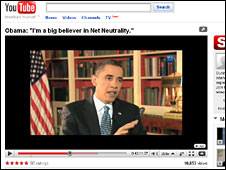 President Obama on YouTube