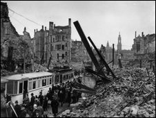 The ruins of Dresden