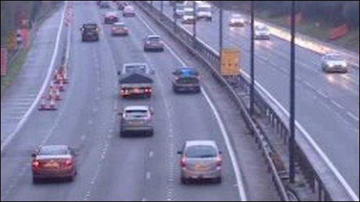 M4 near Cardiff