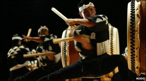 Kodo Drummers Tour  Uk